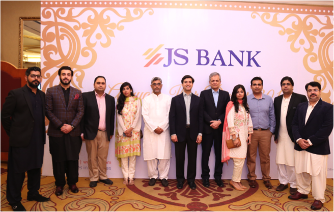 0eb0371edab9 JS Bank held its annual Iftar for the media, attended by Ali J. Siddiqui,  Chairman and Khalid Imran, President with JS Bank's marketing team and  employees.